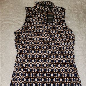 Pattern Fitted Dress